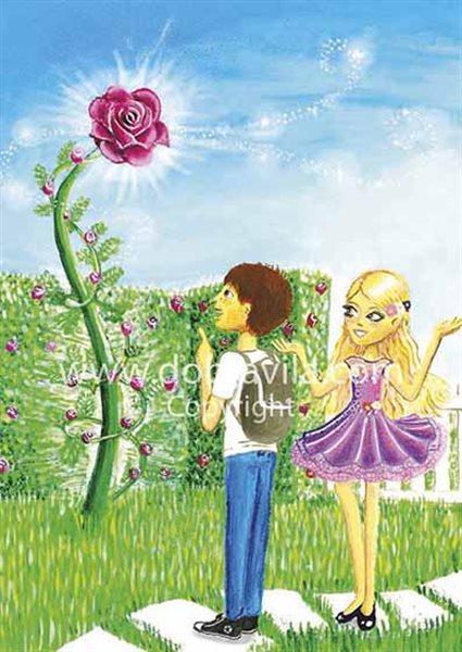 anže vila in roza vrtnica