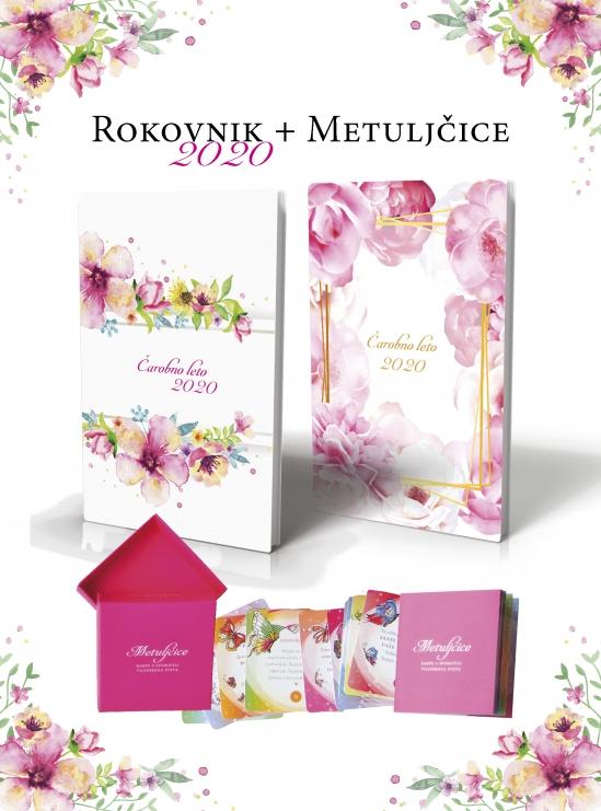 Banner akcija - Rokovnik + Metulcice