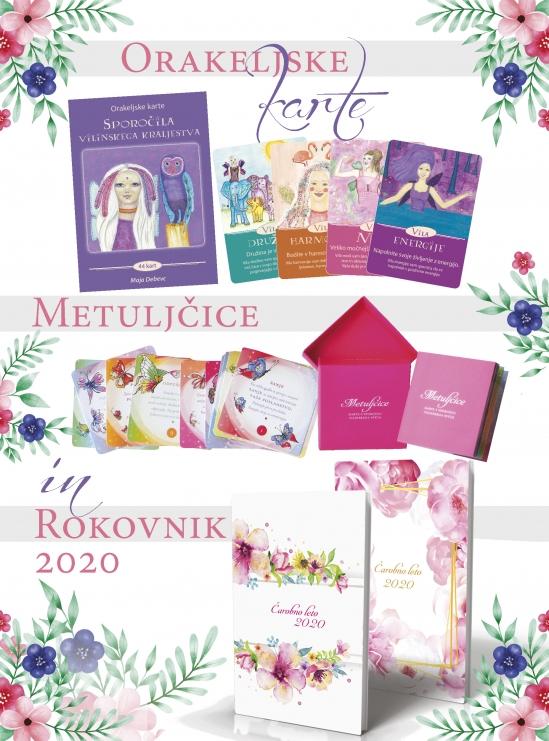Banner akcija - Karte + Metulcice + Rokovnik